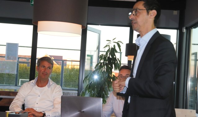 Faoud Sidali is de nieuwe voorzitter voor Focus '07 hij volgt John Maassen op