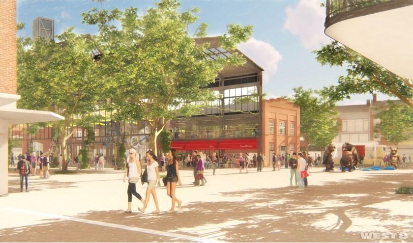 Plan voor het Marktplein. Foto: West 8