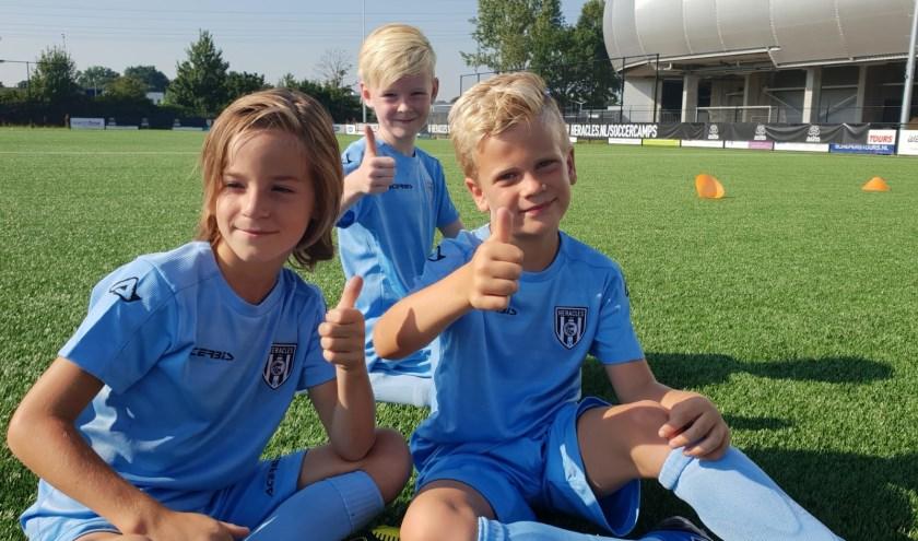 Jeugdige voetballers kunnen aan de slag in de Soccer Camps van Heracles.