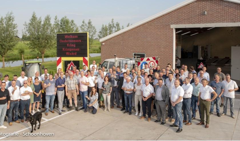 De eerste bijeenkomst van de Ondernemerskring Krimpenerwaard  bij Van der Wal Berkenwoude.