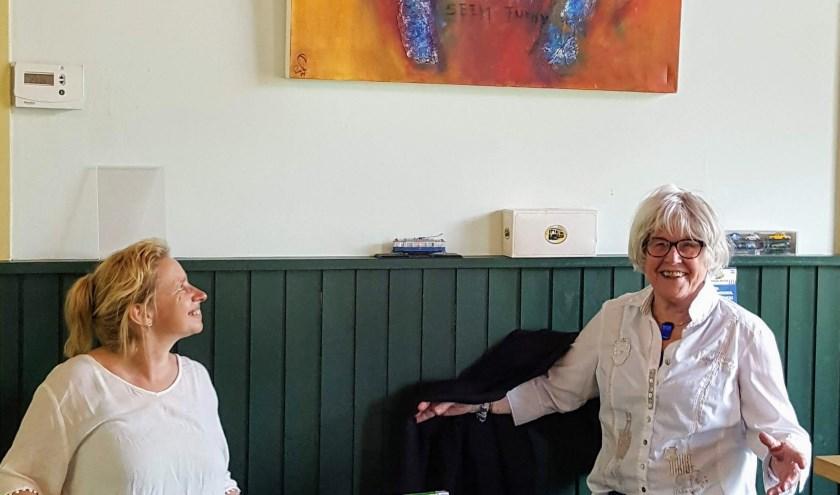 Susan Dijkens maakt ruimte voor kunstwerk van Emilie van Willigen