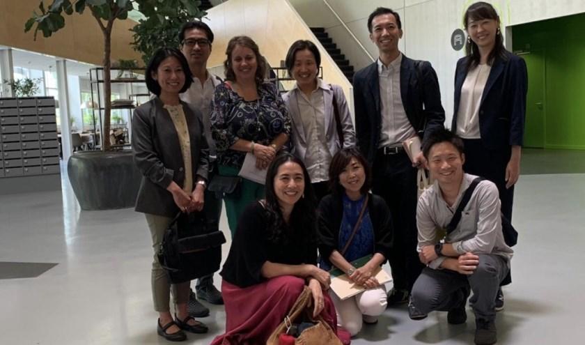 De Japanse delegatie