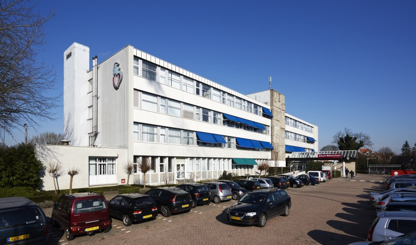 De huidige locatie in Sliedrecht van het Albert Schweitzer ziekenhuis sluit de deuren op maandag 15 juli. (Foto: Privé)