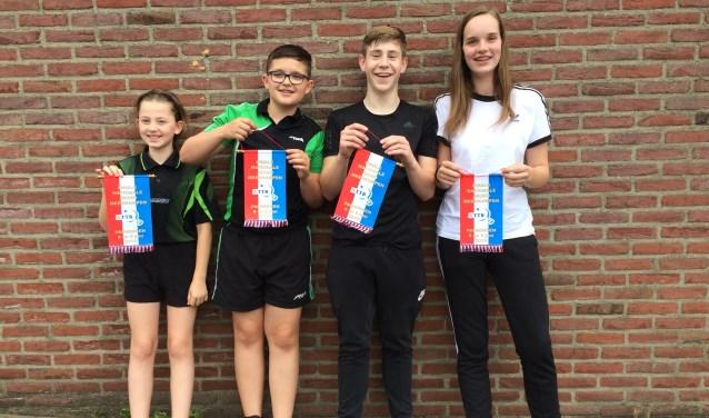 Deelnemers finale nationale jeugdmeerkampen 2019
