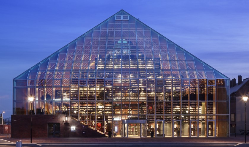 Bibliotheek De Boekenberg in Spijkenisse.