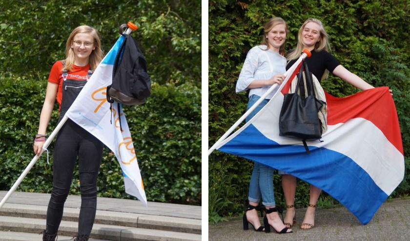 De 16-jarige Jaëlle van Anrooij uit Brakel is geslaagd voor haar vmbo-gl opleiding. De twee zussen Imke en Margot van Spronsen hebben hun vwo- en mavodiploma gehaald.