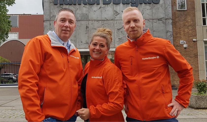 Drie enthousiaste leden van Team 48: Rob Zeedijk (links), Deborah Scholte en Peter van de Wetering.