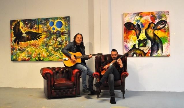 Remko Willems (links) en Joshua Smits.