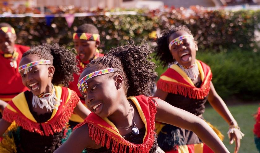 Kidsgear Children's Choir uit Oeganda komt naar BOOST. Foto: Bernd Kottier