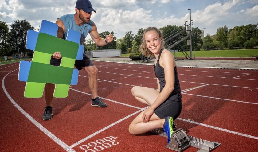 """MIla: """"Horden lopen, verspringen en de 100 meter zijn echt wel mijn onderdelen."""""""