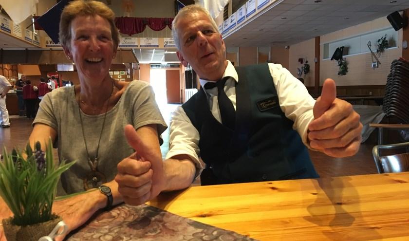 Alice en Frans Witjes: het nieuwe koningspaar van EMM Ooy-Zevenaar. (foto: Jelle Berends)