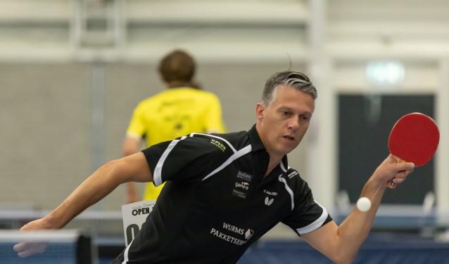 Herm Aalders en zijn teamgenoten ontvangen ook komend seizoen de nationale tafeltennistop in Terborg.