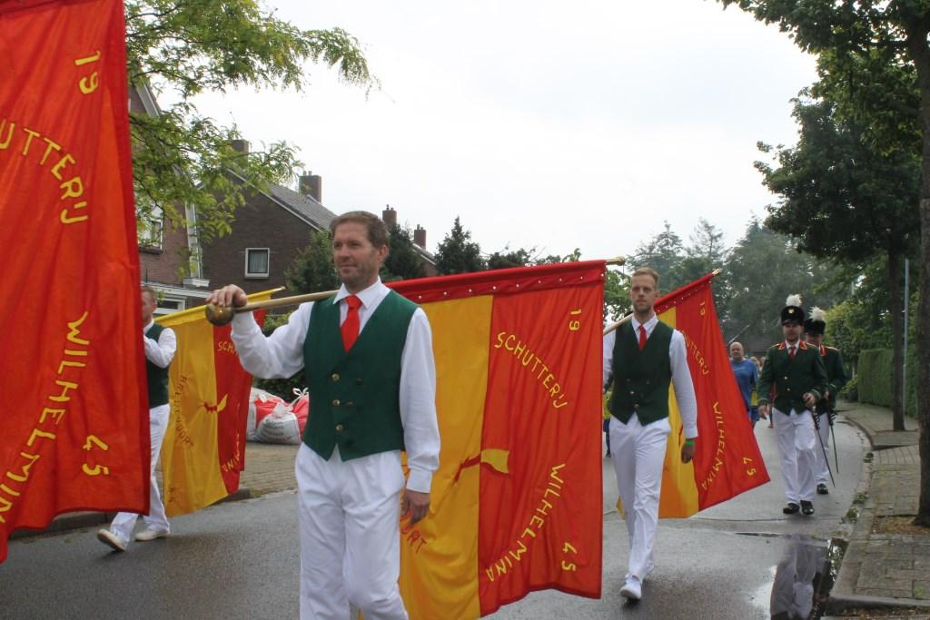 Schutterij Wilhelmina Bredevoort organiseert het jaarlijkse Volksfeest.  Foto: Leo van der Linde © Persgroep