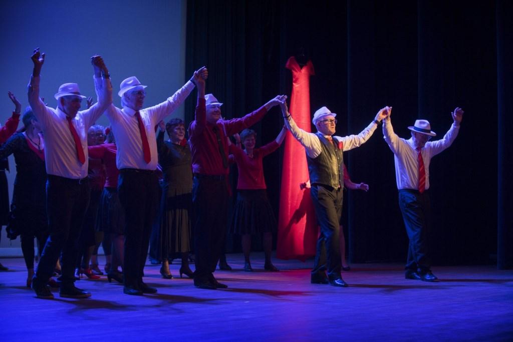 Nederland, Houten, 28-01-2018Dans in School organiseert in Houten Gouden Dans. Ontmoeting, dans en beweging voor senioren Foto: Hans Hordijk © Persgroep