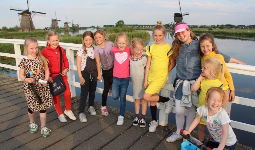 """""""Traditie is dat de donderdagavond gelopen wordt via de molens in Kinderdijk."""" Foto: Herman Visser."""