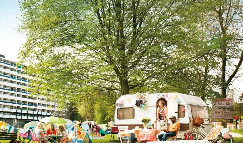Voor de vierde keer houdt Stadscamping Tilburg 'De Buurtcamping', een camping exclusief voor Tilburgers.