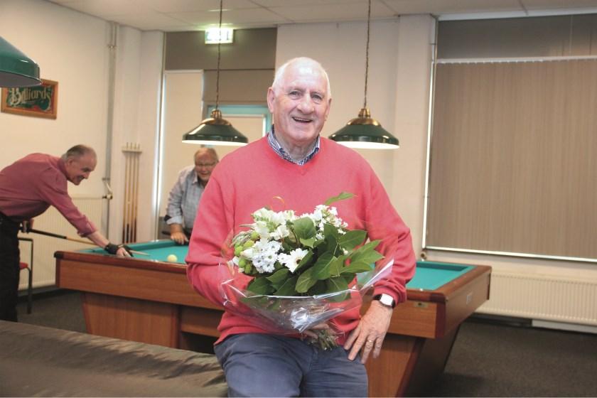 """Ben ten Broeke: """"Ik heb het biljartspel op latere leeftijd opgepakt en het redelijk onder de knie gekregen."""""""