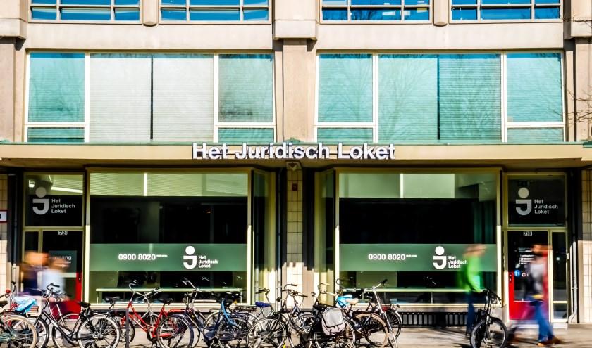Het jurudisch loket in Rotterdam.