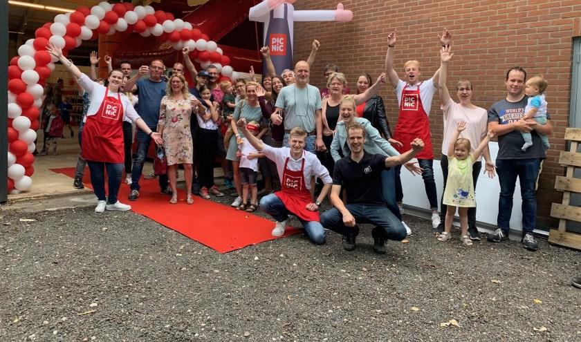 Ruim 400 bezoekers bezochten op Vaderdag de open dag van de Picnic-hub in Apeldoorn.