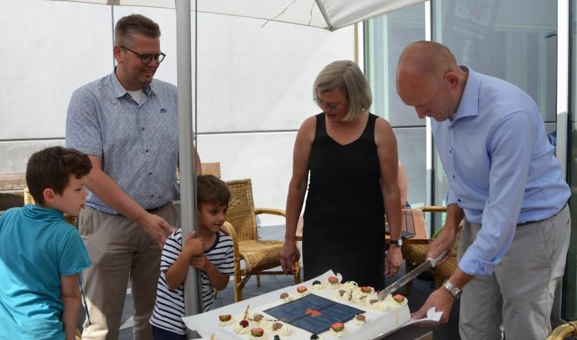 Vier betrokken partijen: Hans Marchal/WbD, Sarida van der Meer, EWZC, Erik van de Kant/SWS en zijn kinderen / toekomstige gebruikers