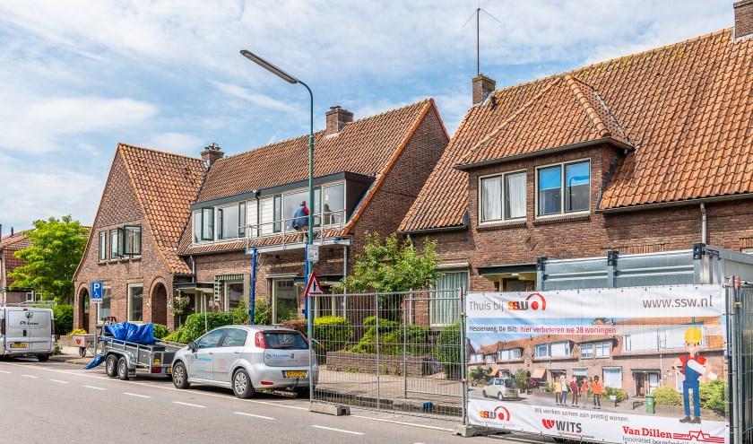 SSW, Wits en Van Dillen werken samen aan prettig en betaalbaar wonen aan de Hessenweg in De Bilt. Foto: Hans Lebbe