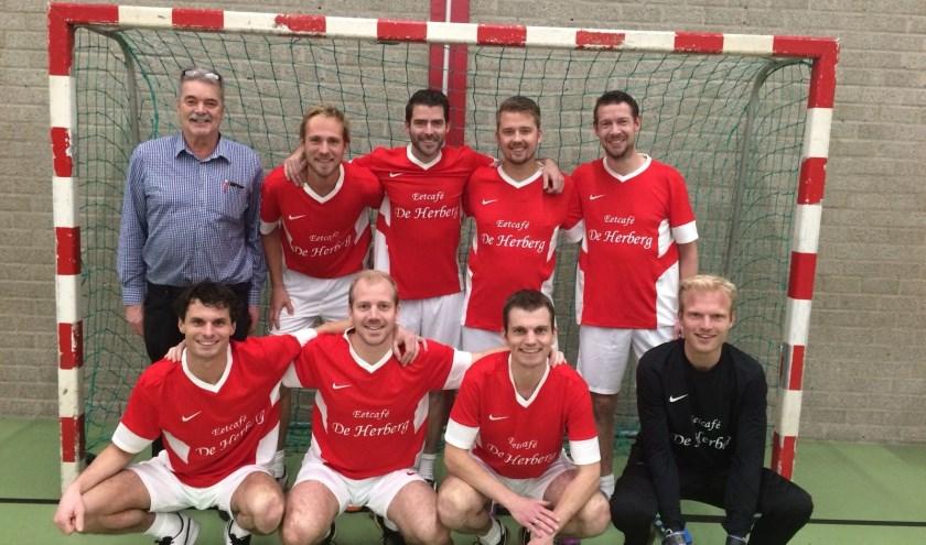 De ploeg van Jos Riegen bleef het hele seizoen ongeslagen. Foto: Conmar Chamuleau