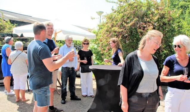 Belansgtelling was er genoeg, voor de open dag van Freek Wijnen. Foto: Cok Slijkoord