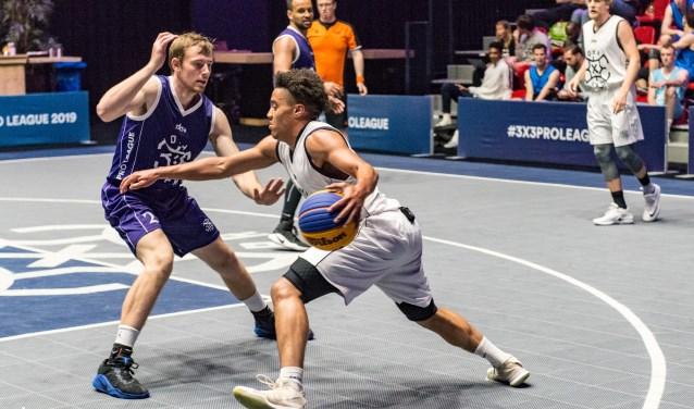 3x3 basketbal is innovatief, dynamisch en van hoog niveau te zien in Zaltbommel. Een unieke belevenis.Foto: Nabor.nl fotografie
