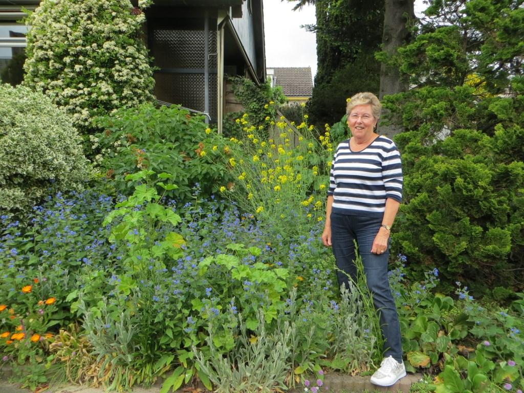 Teunie van den Berg is een van de leden van Dames Fit Club.  © Persgroep