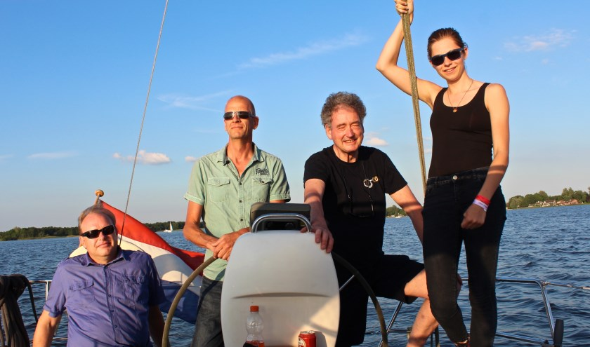 vlnr: Edwin Plug, Frans de Wit, Rob de Richemont en Natasha de Wit