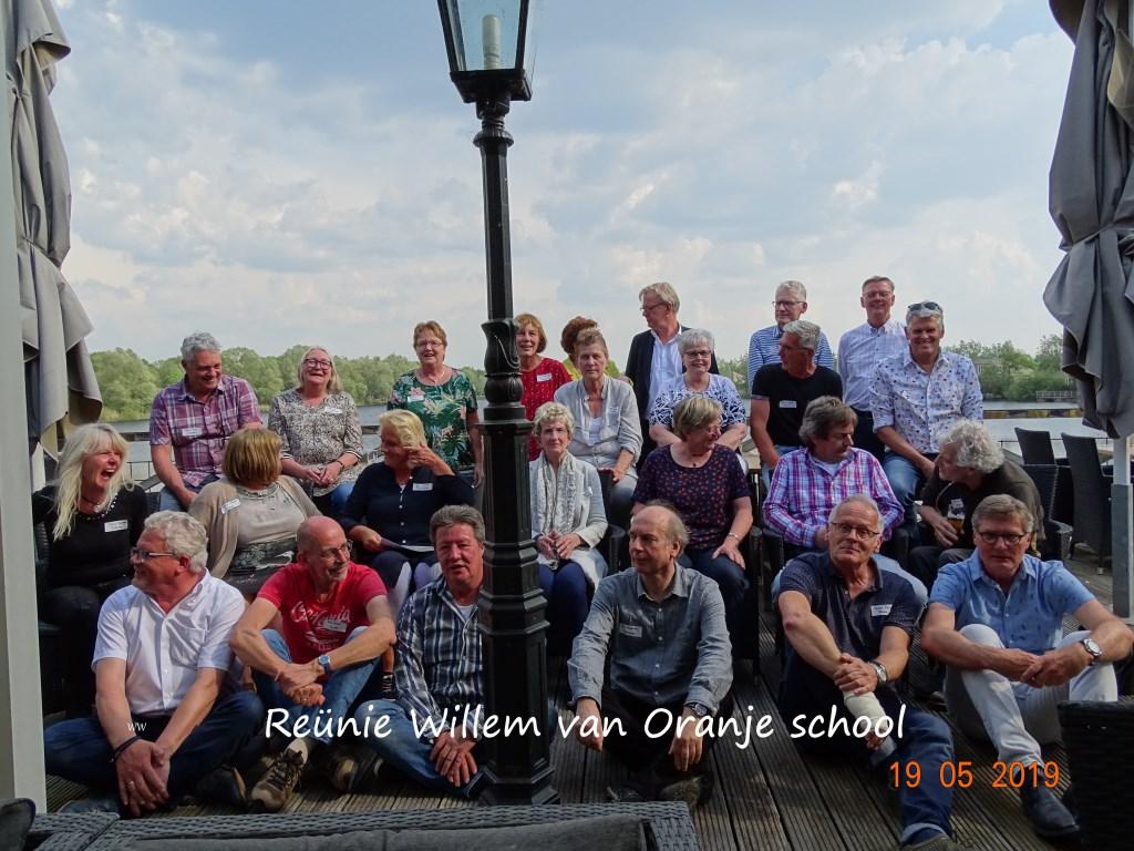 Reuni van de 5 de klas 50 jaar later  © Persgroep