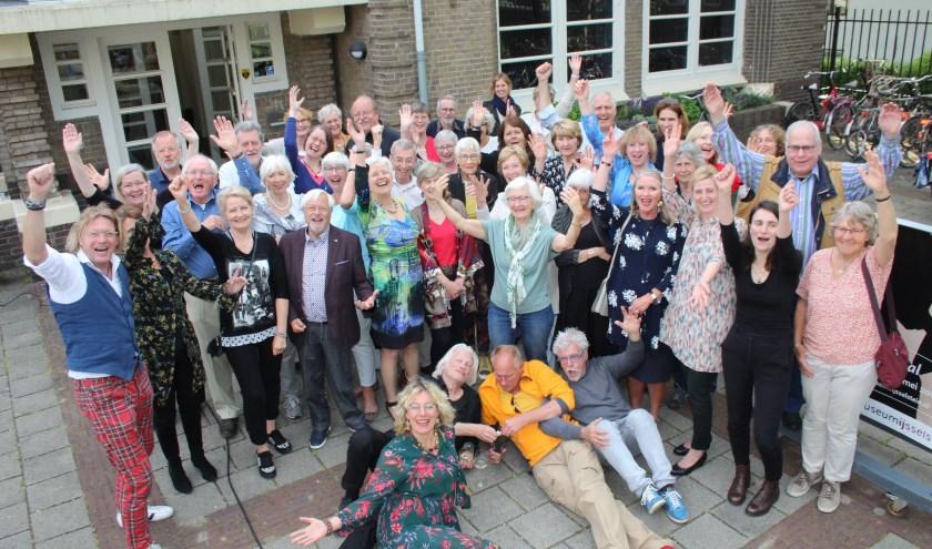 Al zeven jaar vitaliteit bij MIJ, met inbreng van de altijd enthousiaste medewerkers en vele vrijwilligers. (Foto: Lysette Verwegen