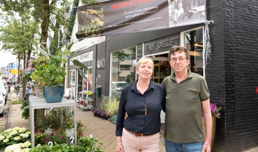 Bloemenhuis van Delft gaat met pensioen na 44 jaar. FOTO: Mel Boas