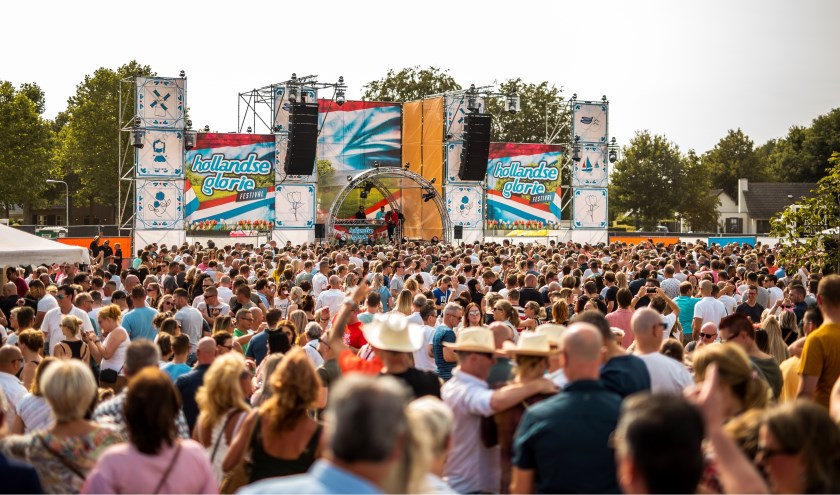 Het Hollandse Glorie Festival is aankomend weekend te vinden in het Reeshofpark. foto: Floris van Bergen