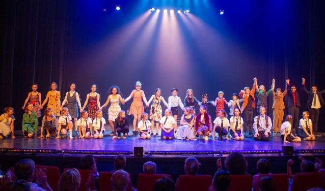 De Musicalclass Jeugd (8-15 jaar) van Kunstencentrum Waalwijk speelt komend weekeinde maar liefst vier keer de musical De Kleine Planeet.
