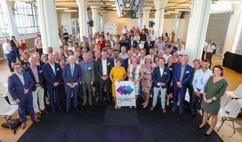 Het Human Capital Akkoord werd op 24 juni ondertekend in de Van Nellefabriek in Rotterdam. (foto: Daniel Verkijk)