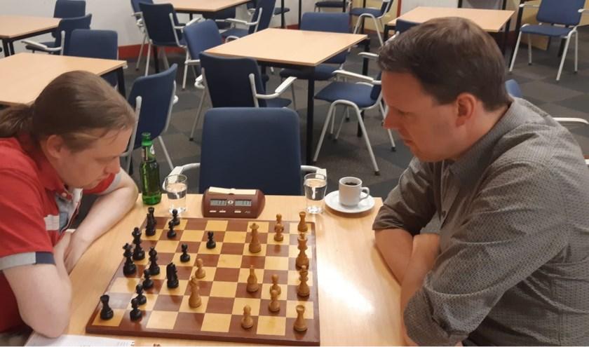 Rechts de latere kampioen Martijn Pauw. (Foto: Martin Markering)