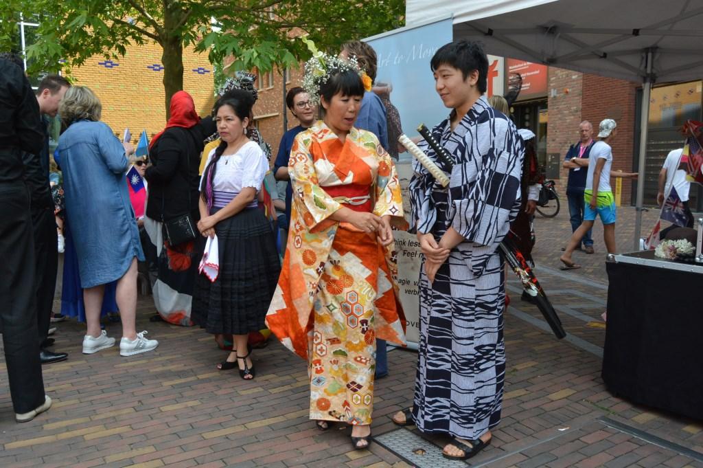 Gheisha en Samourai, Japan.  © Persgroep