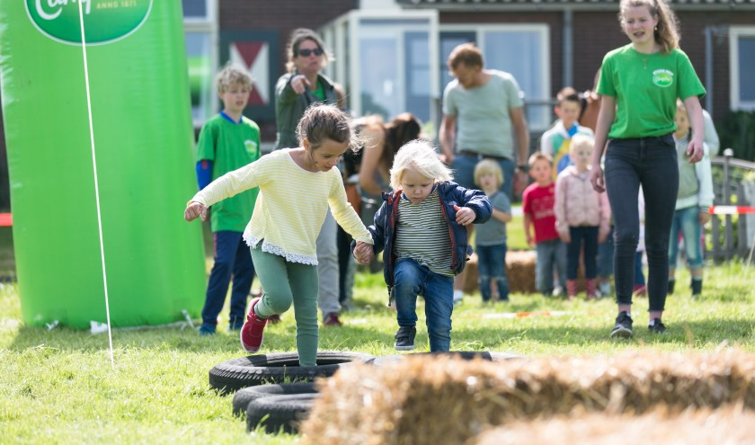 De boerderij van de familie van den Broek aan het Mosbroekpad in Waalre is maandag 10 juni geopend. Foto: Martine Berendsen.
