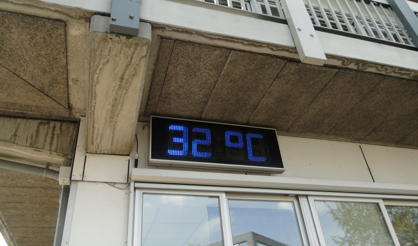 Hoge temperaturen de afgelopen week, en ook komend weekeinde tikt de thermometer de 30 graden weer makkelijk aan.