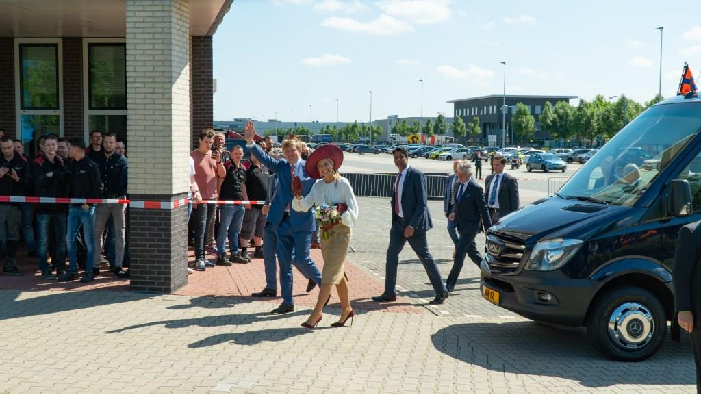 Willem-Alexander en Maxima Foto: King © Persgroep