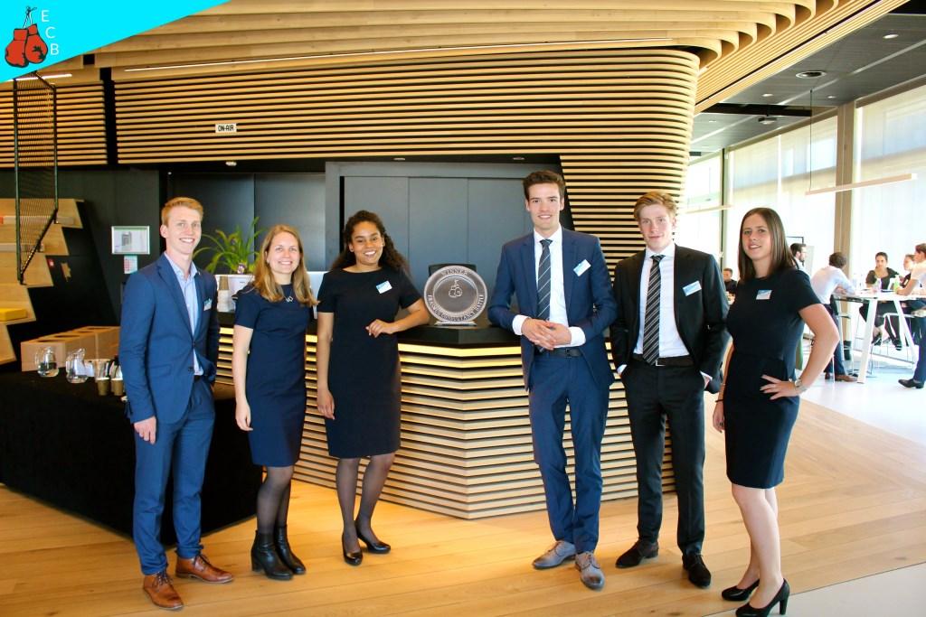 De organisatoren van de Erasmus Consultancy Battle Foto: Laura Koorevaar © Persgroep
