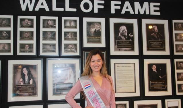 De Almelose Léonne Henkelman mag Nederland vertegenwoordigen en krijgt ook een plekje in de Wall of Fame