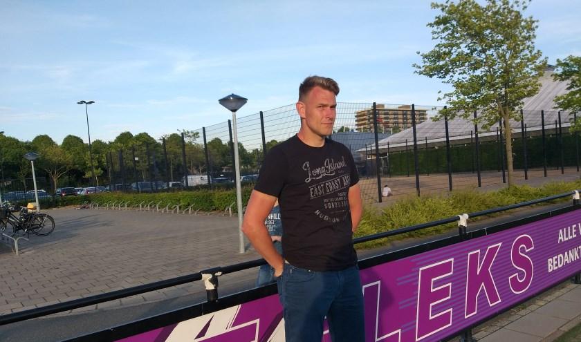De nieuwe coach van Refleks, Arjan Maltha