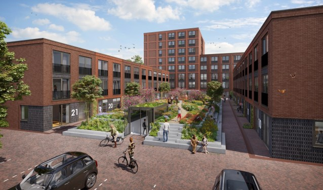 Plan 264 studentenkamers langs de Costerweg - Stad Wageningen