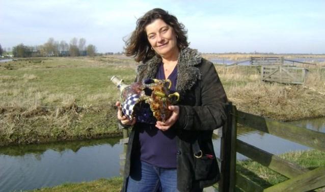 Karin van Leeuwen, beeldend kunstenares uit Alphen aan den Rijn