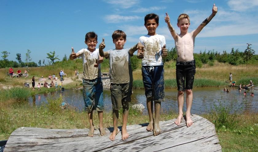 Ben jij niet bang om vies te worden? Kom dan op 26 juni naar het Modderparadijs in Goes. Foto: MEC De Bevelanden.