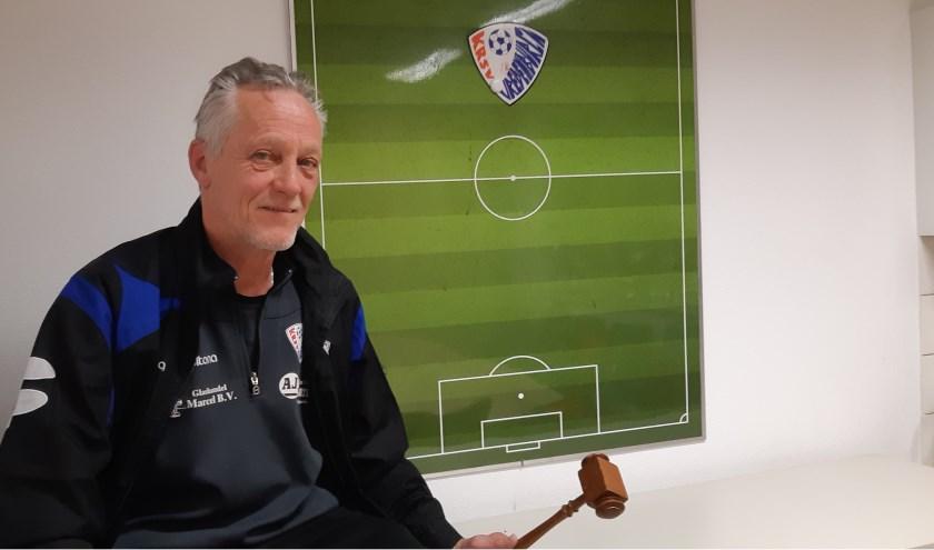 Andre Postman doet volgend seizoen stapje terug in de voetballerij, maar blijft nog wel actief