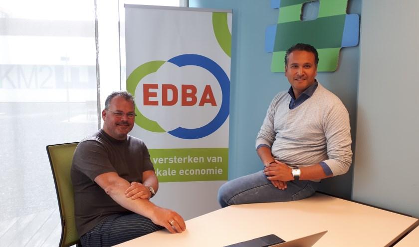 Joost Berkhout (links) en Daniël Othman zullen 'zeker weten' weer bij het Zomerspektakel aanwezig zijn.