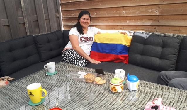 """Laura: """"Later willen we misschien wel oud worden in Colombia, in het koffiegebied."""""""